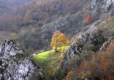 Paisaje del Parque Natural de Redes, en Asturias